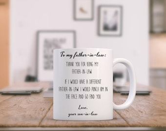 Father In Law Gift Funny, Father Of The Groom Gift From Bride, Gifts For Father In Law, Gift For Inlaws, Father In Law Wedding Gift, In Laws