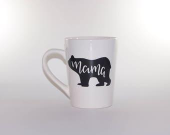 Mama Bear - Coffee Mug - New Mom Gift - Mother's Day Gift - Baby Shower Gift - Christmas Gift - Gift For Mom - Gift For Her