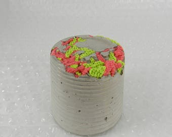 Tactile Fabric Concrete Paper Weight