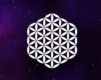Flower of Life Decal Sticker - Sacred Geometry