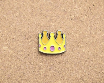Royal Queen Crown emoji Hat Pin