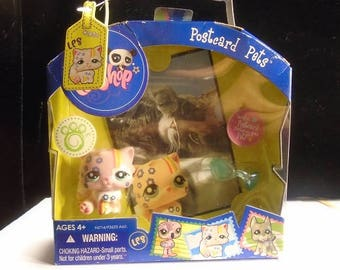 Brand new Littlest Pet Shop Persian cat #1436