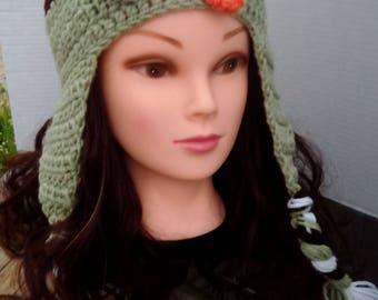 Crochet Owl Hat, Baby Owl Hat, Child Owl Hat, Adult Owl Hat.