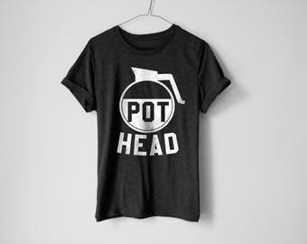 Pot Head Shirt | Coffee Shirt | Brunch Shirt | Sunday Shirt | Funny Shirt | Trendy Shirt | Breakfast Shirt | Sunday | Breakfast | Coffee