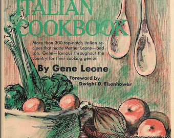 Leon's Italian Cooking by Gene Leone (Hardcover) 1967