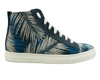 Sneaker Leaf - Recycled Tapestry - Vegan Shoes