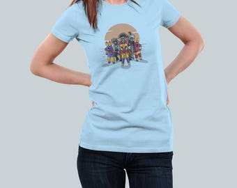 Piñata Bandits / Western Sombrero Tee / Cinco de Mayo Mexican Label / Womens Fit T Shirt