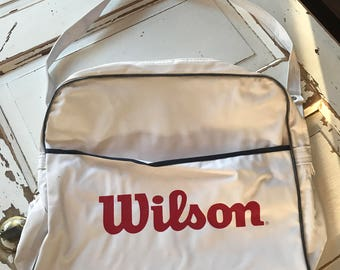 Vintage Wilson Vinyl Baseball Winter Meerings 1988 Bag