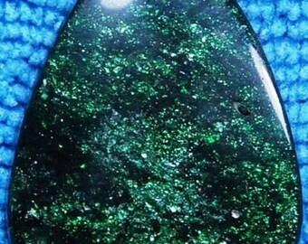 Green Goldstone #1 - 26x32 mm