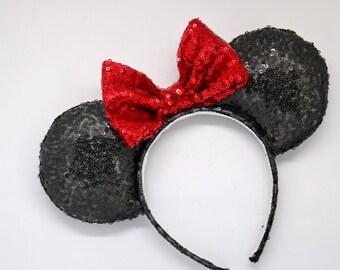Minnie mouse ears, disney ears, classic mouse ears, classic minnie ears, mickey mouse ears, classic mickey ears, minnie ears, mickey ears