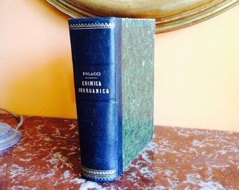 Antique Italian Medical Book Chemistry Medicin Pharmaceutical 1893