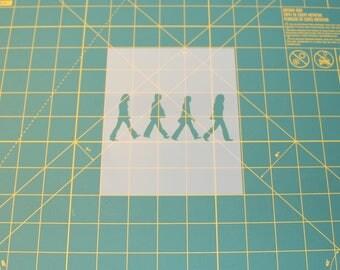 The Beatles Stencil - Reusable DIY Craft Stencils of the Beatles