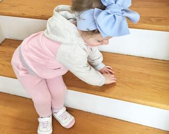 Halogen Knit Headwrap- Headwrap; Stretchy Headwrap; Baby Headband; Toddler Headband; Baby Headwrap; Toddler Headwrap; Stretchy Head Wrap