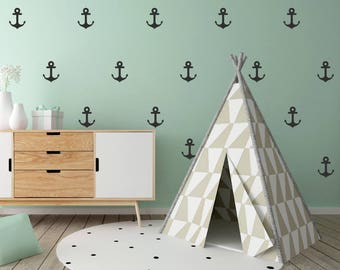 48 Anchor Wall Decal Stickers