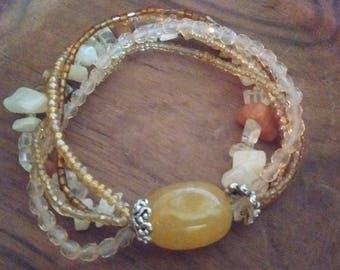 Semi-Precious Stone Bracelet-