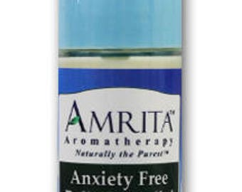 Anxiety Free Roll-On Relief (Natural Anxiety Reducer) with Therapeutic Quality Essential Oils