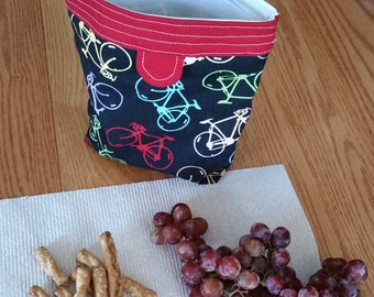 Large reusable snack bag