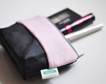 Make up Pouch - Woolfelt & Washable paper
