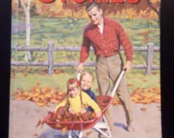 Uncle Arthur's Bedtime Stories 1964 Vol 1 - vintage childrens story book