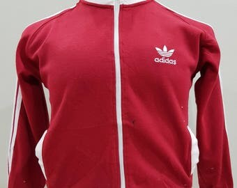 Vintage Adidas Trefoil Sweater Small Embroidery Logo