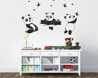 Wall stickers nursery | Pandas NR 222