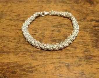 Fine Silver Vipera Berus Bracelet