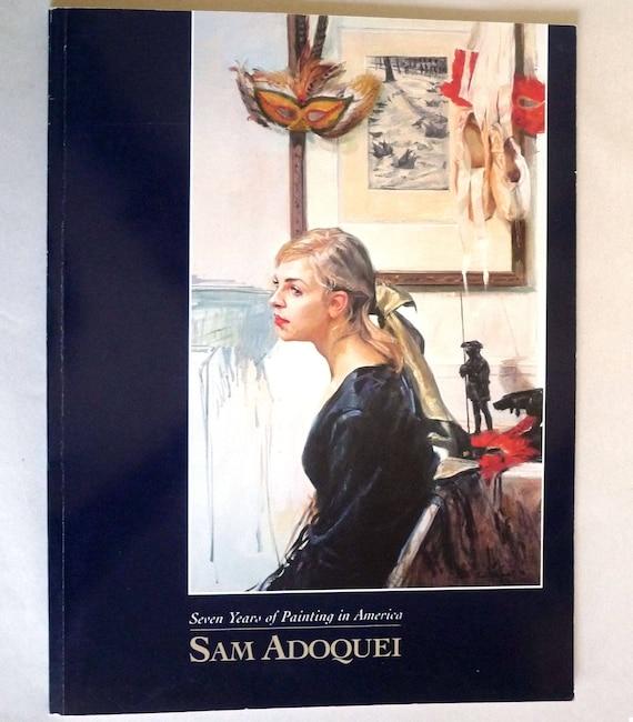 Sam Adoquei: Seven Years of Painting in America 1999 Art Gallery Catalog New York