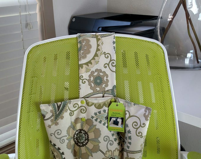 Jacobean Back Rest- Heat or Freeze, Shipping included