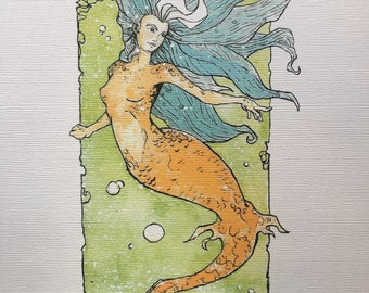 Mermaid Two print limited of 10