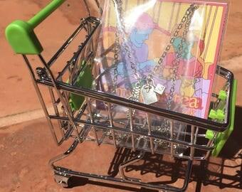 mini cart party favor