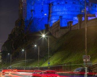 St Andrew's Day Edinburgh Castle