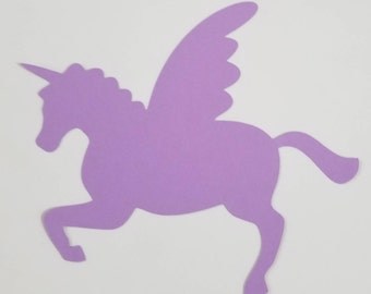 Unicorn Die cuts (30 Units)