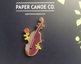 Fiddle-rose Pin