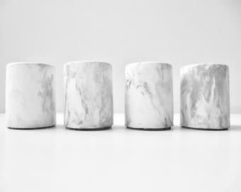 mini marbled concrete pot mini concrete planter pot for mini cactus