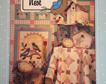 Black Mountain Quilts - quilt pattern booklet - Robin's Nest - designs by Teri Christopherson