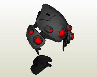 Widowmaker's Armor Pepakura Set