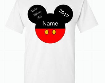 Men's/Boys  Mickey Mouse family vacation shirt Disney family Shirts Disney Matching Shirts Disney Shirts Custom Personalized