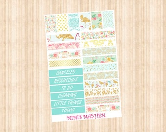 NEW Blossom Banners & Flags // Happy Planner // Erin Condren //Personal
