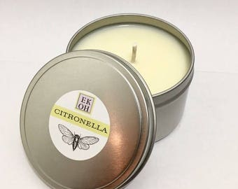 8 oz. Citronella Tin