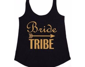 Bride & Bride Tribe Women's Hen/Bridal Loose Fit Vest Top(s)