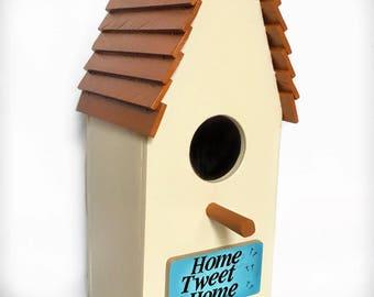 Home Tweet Home Birdhouse/ Bird / Nesting Box - HandCrafted Wood