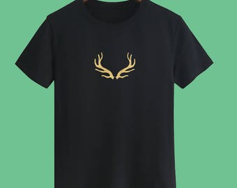Christmas T shirts Christmas Deer T shirts Christmas Gift T shirts Golden T shirts sayings Party T shirts X'mas Party T shirts Unisex tee