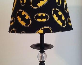 Batman Lamp,Justice League, Kids Lamp, Bedroom Lamp, DC Comics, Superheroes