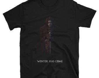 Game of Thrones - 'Winter has come' Jon Snow ~unisex t-shirt~