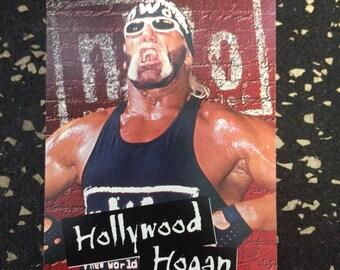 WCW Hollywood Hulk Hogan Sticker by Topps