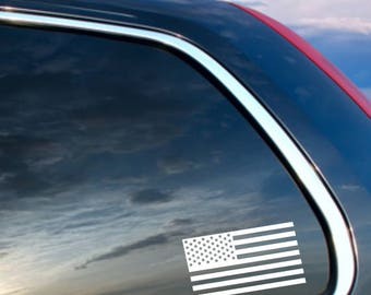 Simple US Flag decal, Patriotic Flag decal, United States Flag Decal, Flag Decal, Car decal, Window decal, Laptop Decal, Tablet decal