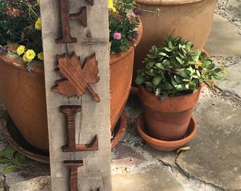 Fall Sign - Small - FREE SHIPPING!