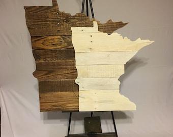Minnesota Sign - FREE SHIPPING!!
