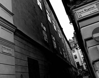 Stockholm street, Sweden