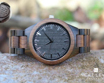 Parents Wedding Gift Father of the Groom Gift Parents of the Groom Gift from Bride Gift from Groom Gift for Dad from Daughter Wood Watch